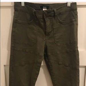 BDG Green Moto skinny jean size 29